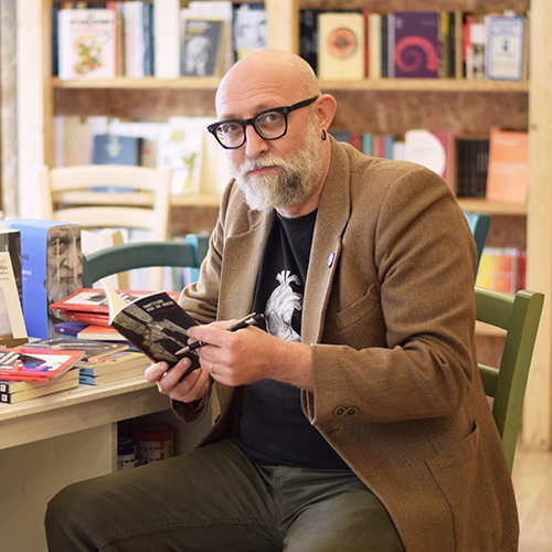 Paolo Agrati. Foto di Lucia Liberti